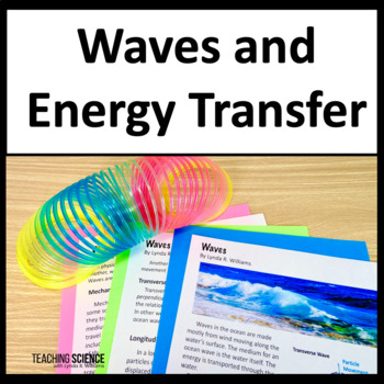 4th Grade Close Read and Lab on Waves NGSS 4-PS4-1 and 4-PS3-2