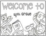 4th Grade Coloring Page