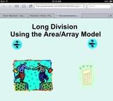 4th Grade Common Core Aligned Long Division Using Area Model