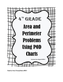 4th Grade Common Core Area and Perimeter Word Problems