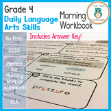 4th Grade Daily Language Arts Skills Morning Work
