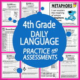 4th Grade Language Practice – Daily Grammar Review & ELA Assessments