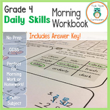 4th Grade Daily Skills Morning Work | Distance Learning