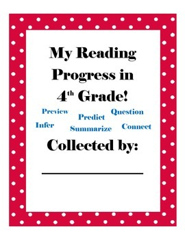 4th Grade Common Core ELA Data Notebook