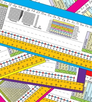 4th Grade Common Core Desk Plates 6 Colors