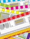 4th Grade Common Core Desk Plates Stripes