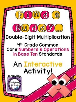 4th Grade Common Core Double-Digit Multiplication Strategi