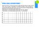 4th Grade Common Core Fraction Fair Menu