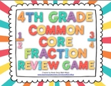 4th Grade Common Core Fraction Review Game