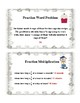 4th Grade Common Core Fraction Task Cards
