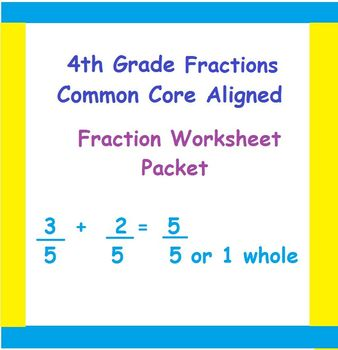 4th Grade Common-Core Fraction Word Problems, Multiplication, Mixed Numbers