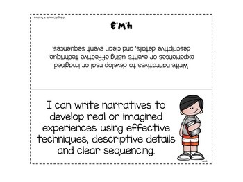 "4th Grade Common Core ""I Can"" Standards Posters {ELA ONLY}"
