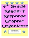 4th Grade Common Core Literature and Informational Text Graphic Organizers