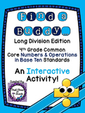 4th Grade Common Core Long Division (Find a Buddy)