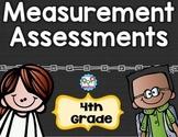 Measurement Tests 4th Grade