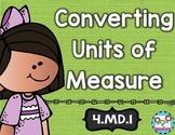 Converting Units of Measure 4th Grade