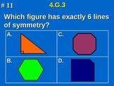 4th Grade Common Core Math - 4.G.3 Identify Lines of Symmetry