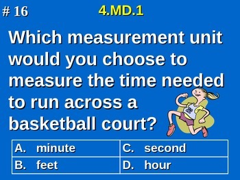 4th Grade Common Core Math - 4.MD.1 Know and Convert Measurement Units