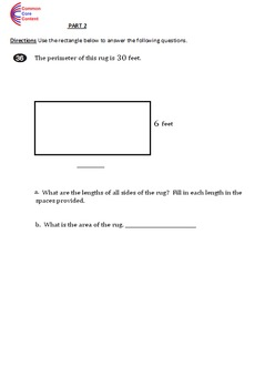 4th Grade Common Core Math Assessment Form A - Mirrors Common Core State Test