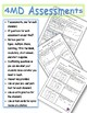 4th Grade Common Core Math Assessments 4.MD.1 - 4.MD.7