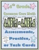 4th Grade Common Core Math Assessments 4.NBT.1 - 4.NBT.6