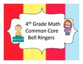 4th Grade Common Core Math Bell Ringers