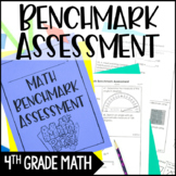 4th Grade Math Benchmark Assessment {All 4th Grade Common