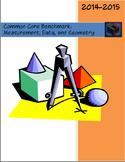 Math Benchmark:  Measurement, Data, and Geometry (4th grade CCS)