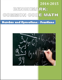 4th Grade Common Core Math Benchmark:  Number and Operations - Fractions