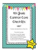 4th Grade Common Core Math Check-Ups--4.NBT