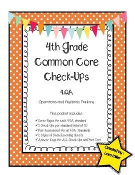 4th Grade Common Core Math Check-Ups--4.OA