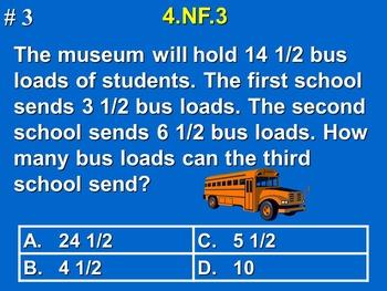 4th Grade Common Core Math Comprehensive Practice Bundle Pack
