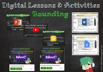 4th Grade Digital Lesson: 4.NBT.3 Rounding