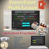 Equivalent Fractions (4.NF.1):  Digital Math Lesson