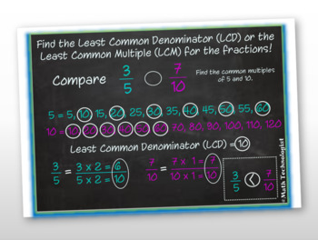 4th Grade Common Core Math Lesson: 4.NF.2 - Comparing Fractions