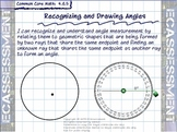 Recognizing and Drawing Angles (4.MD.5):  4th Grade Math CCS Lesson