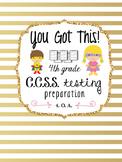 4th Grade Common Core Math Test Prep {Operations and Algebraic Thinking}