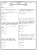 4th Grade Common Core Math Test Prep {Operations and Algeb