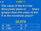 4th Grade Common Core Math - Place Value Understanding 4.NBT.1