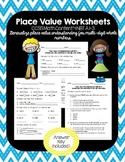 4th Grade Common Core - Math Place Value Worksheets