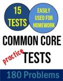 4th Grade Common Core Math Practice Tests IAR PARCC FORWARD ILEARN