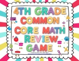 4th Grade Common Core Math Review Game