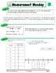 4th Grade Common Core Math Review:  Measurement Monday   1st 9 Weeks