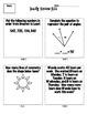 5th Grade Math Spiral Review of 4th Grade Common Core Skills