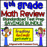 4th Grade Common Core Math Review Standardized Testing - EOG Prep