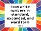 "4th Grade Common Core Math Standards - ""I Can"" Statement Posters"