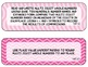 4th Grade Common Core Math Standards- Pink, Black, and White