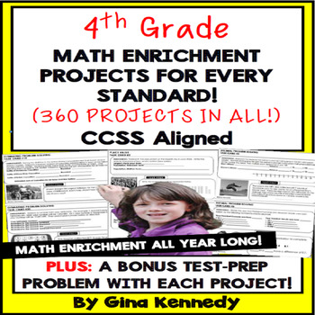 4th Grade Daily Problem Solving & Math Enrichment Projects