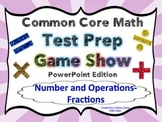 4th Grade Common Core Math Test Prep Game Show (NF) PowerPoint