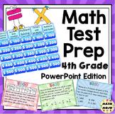 4th Grade Common Core Math Test Prep Game Shows - PowerPoint Bundle